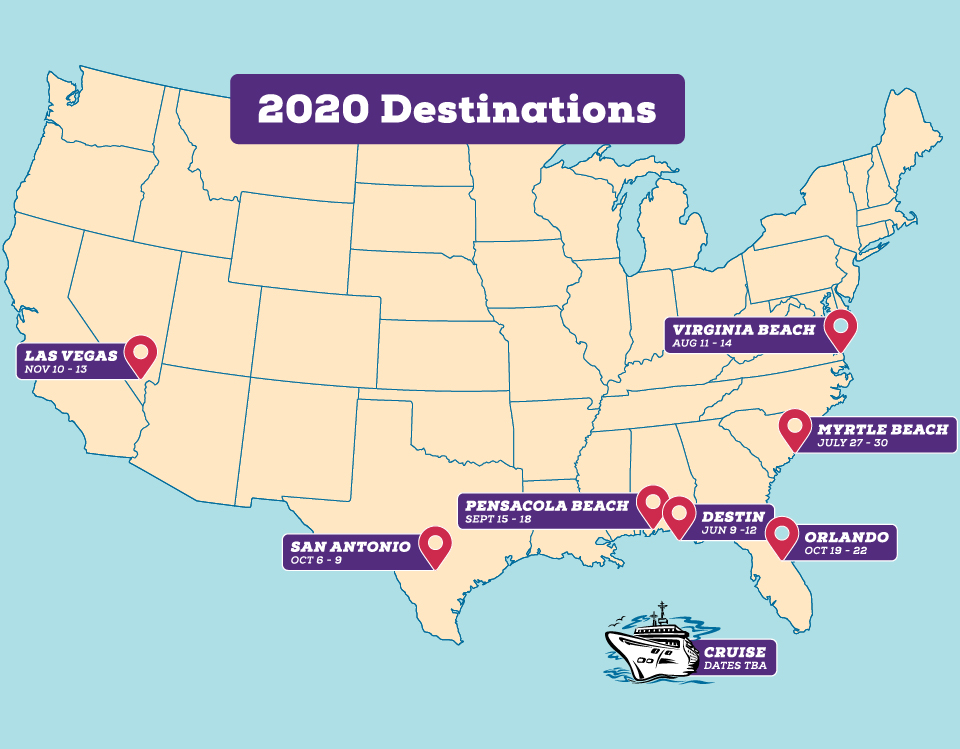 2020 CME Conference Locations | Skin, Bones, Hearts